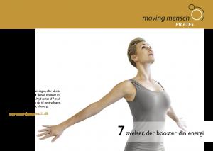 Booklet med 7 øvelser til Moving Mensch Pilates