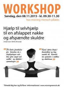 Skulder-nakke workshop hos Moving Mensch Pilates