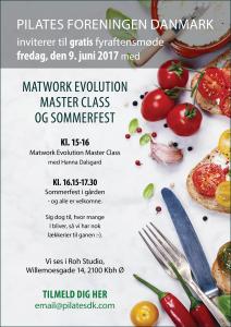Master Class og Sommerfest i Pilatesforeningen