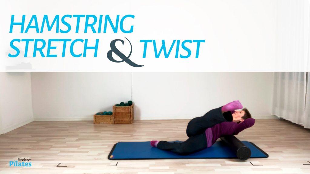 Hamstring stretch and twist