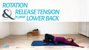 Release tension in lower back