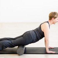 Pilates & fascia - foam roller